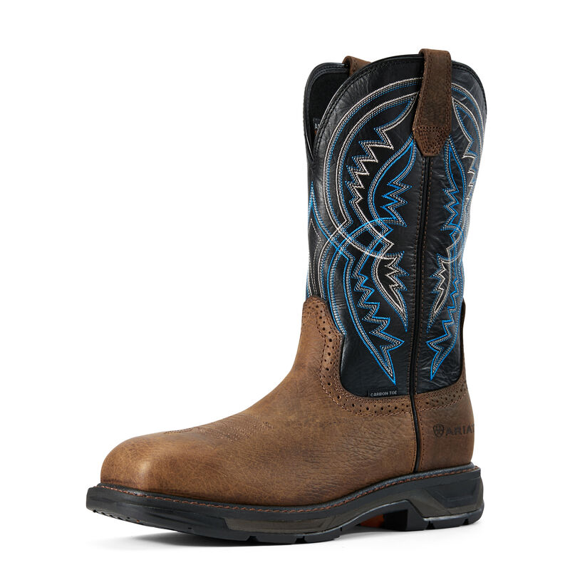 WorkHog XT Coil Wide Square Toe Carbon Toe Work Boot