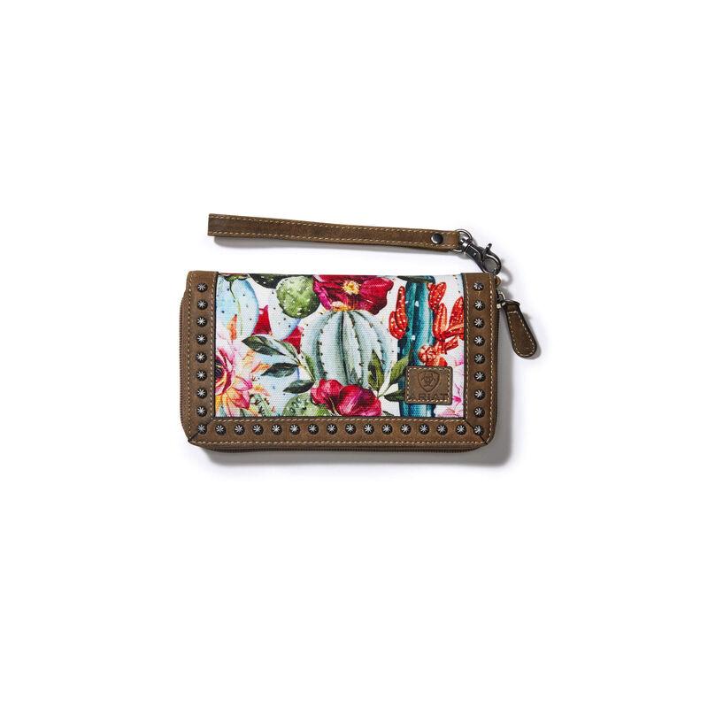 Clutch Wallet Cactus Floral