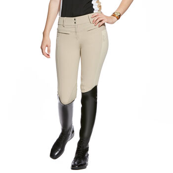 Triumph Low Rise Knee Patch Front Zip Knee Patch Breech