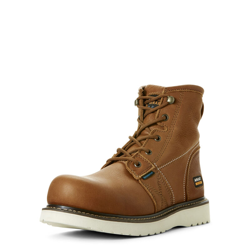 "Rebar Wedge 6"" Waterproof Work Boot"