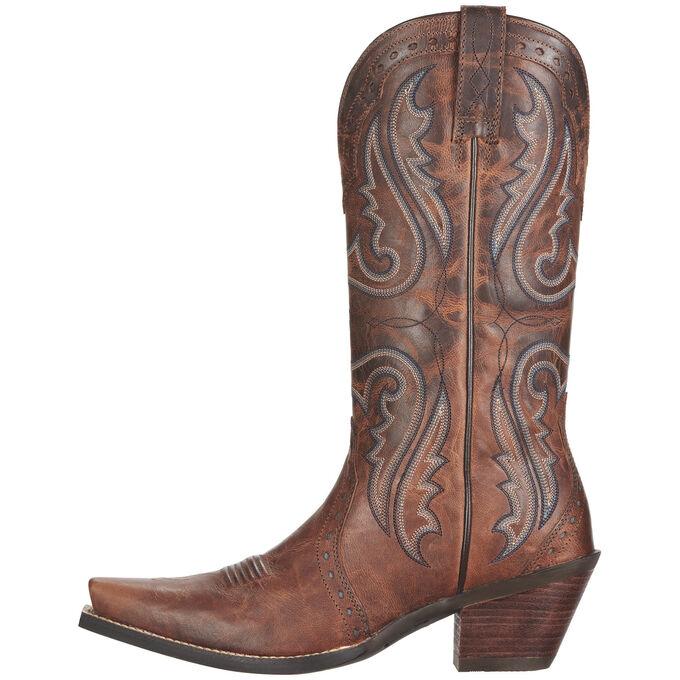 Heritage X Toe Western Boot