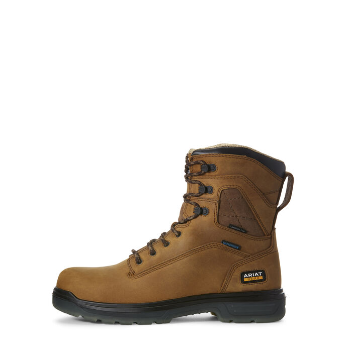 "Turbo 8"" Waterproof Carbon Toe Work Boot"