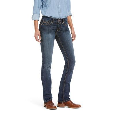 R.E.A.L. Mid Rise Macy Straight Jean