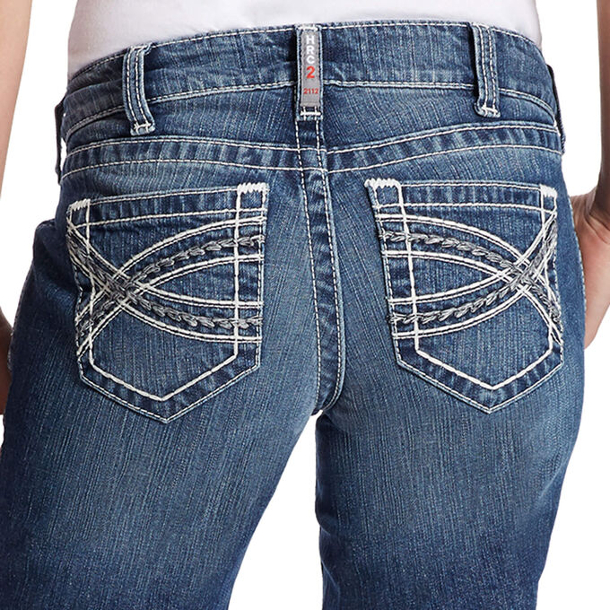 FR DuraStretch Entwined Boot Cut Jean
