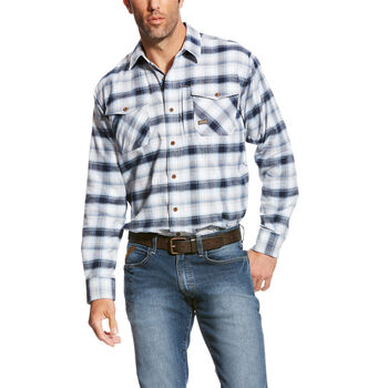 Rebar Flannel DuraStretch Work Shirt