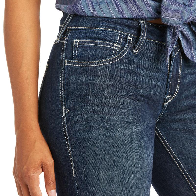 Trouser Mid Rise Isabel Wide Leg Jean