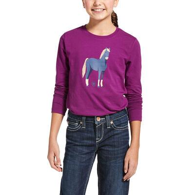 Chenille Horse T-Shirt