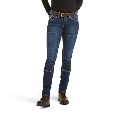 Rebar DuraStretch Riveter Double Front Straight Jean