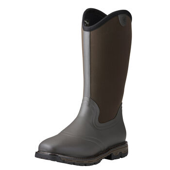 Conquest Neoprene Waterproof Insulated Square Toe Rubber Boot