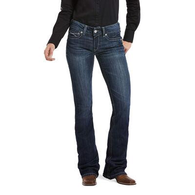 R.E.A.L. Mid Rise Arrow Fit Agatha Boot Cut Jean