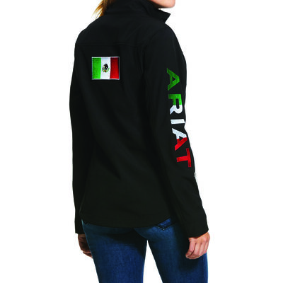 Kids' New Team Softshell MEXICO Water Resistant Jacket