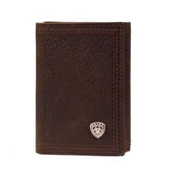 Triple Stitch Trifold Wallet