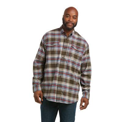 Rebar Flannel DuraStretch Work Shirt