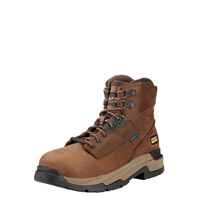 "MasterGrip 6"" Waterproof Composite Toe Work Boot"