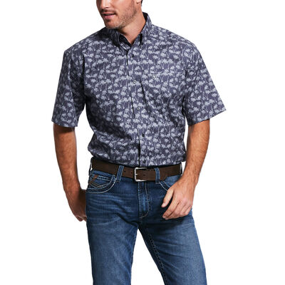 Grandon Print Classic Fit Shirt