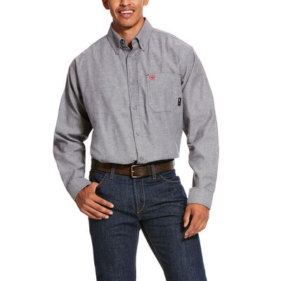 FR Solid Twill DuraStretch Work Shirt