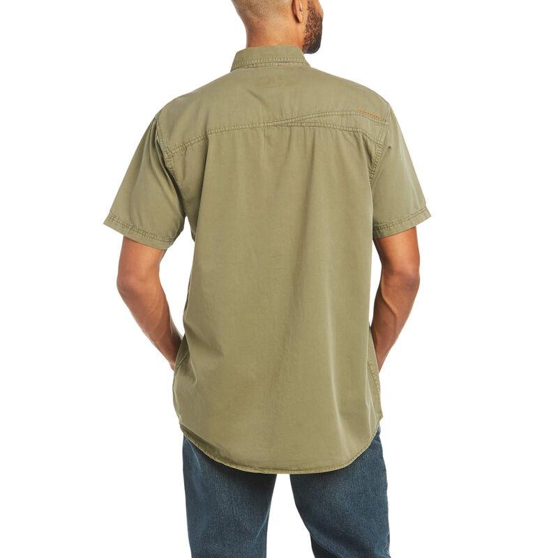 Rebar Washed Twill Work Shirt