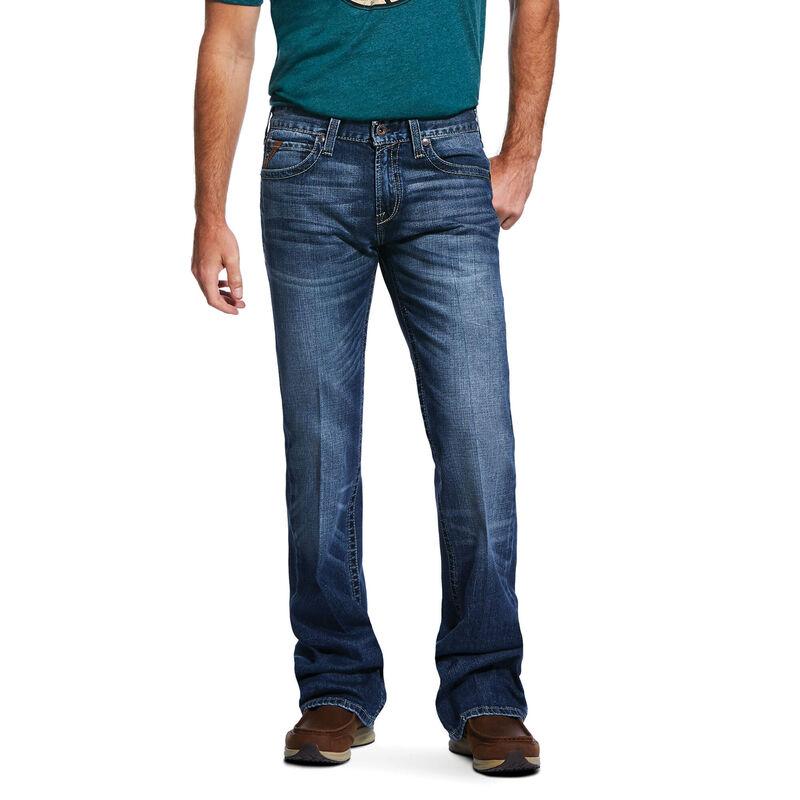 M7 Rocker Stretch 3D Hudson Boot Cut Jean