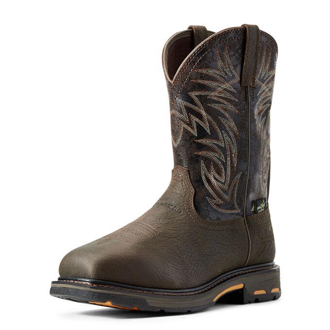 WorkHog Waterproof Metguard Composite Toe Work Boot