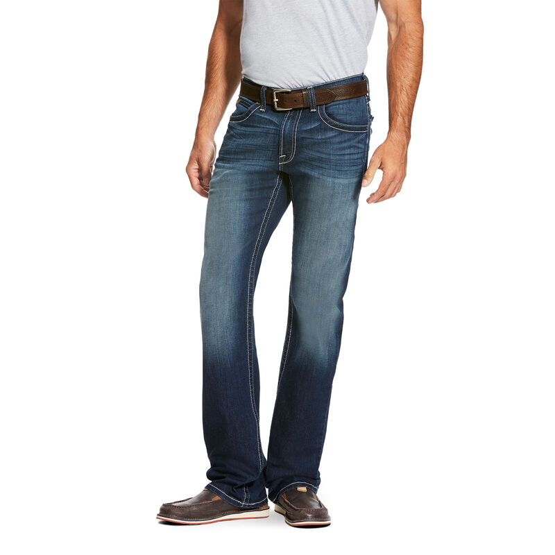 M5 Slim Cooper TekStretch Stackable Straight Leg Jean