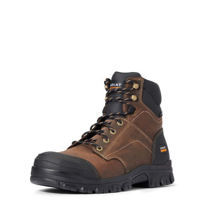 "Treadfast 6"" Steel Toe Work Boot"