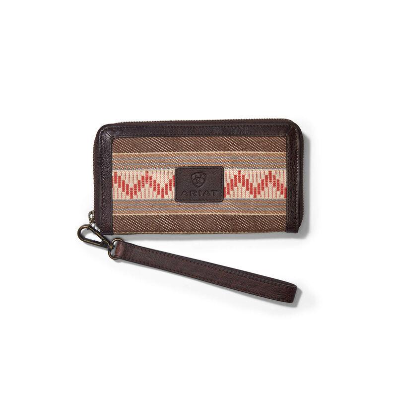 Serape Clutch Wallet
