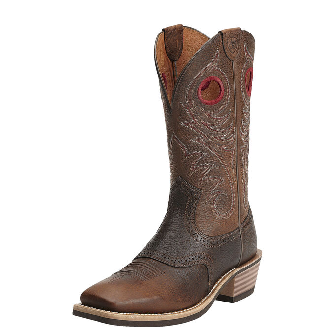8ba491765a6 Heritage Roughstock Wide Square Toe Western Boot