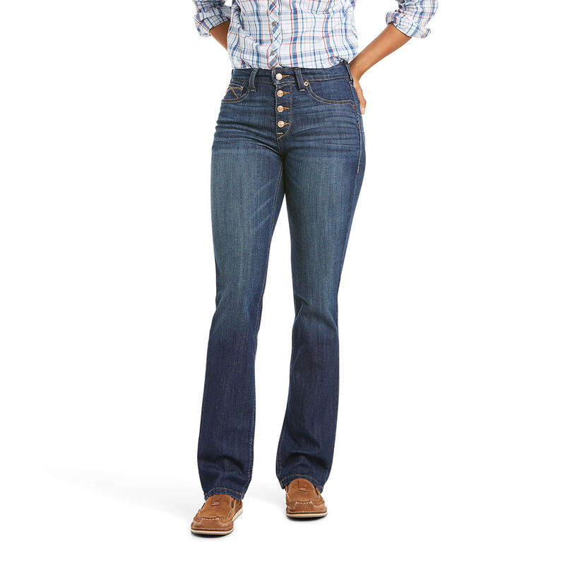 Ariat Women's R.E.A.L HR KIRSTIN Straight Jeans