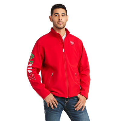 New Team Softshell MEXICO Water Resistant Jacket