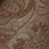 BROWN SUEDE/ BROWN FLORAL EMBOSS