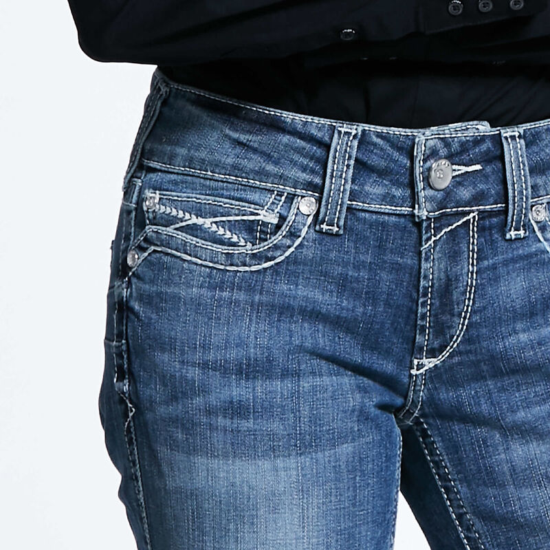 R.E.A.L. Low Rise Stretch Ivy Stackable Straight Leg Jean
