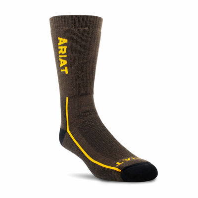 Heavyweight Merino Wool Steel Toe Performance Work Sock