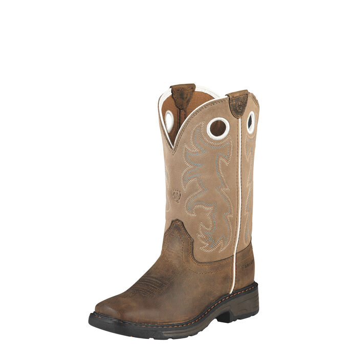 WorkHog Wide Square Toe Tall Boot
