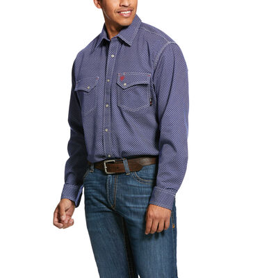 FR Mantle Classic Fit Snap Work Shirt