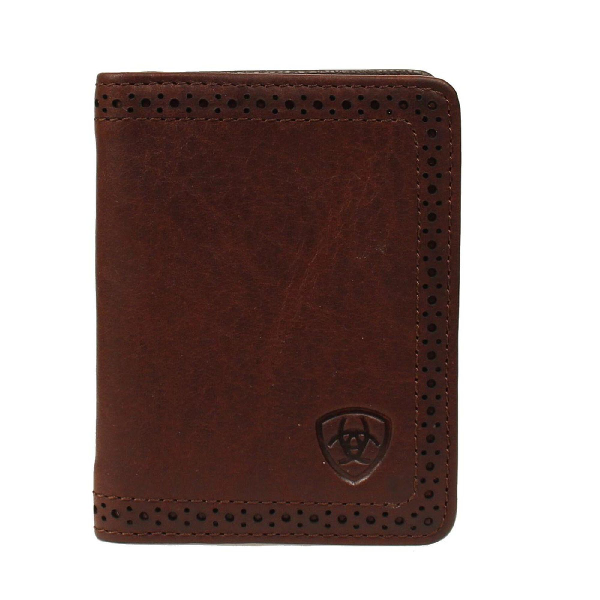 Perforated Edge Bifold Wallet