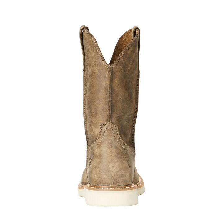 Rambler Recon Round Western Boot