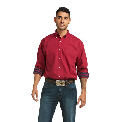 Wrinkle Free Solid Classic Fit Shirt