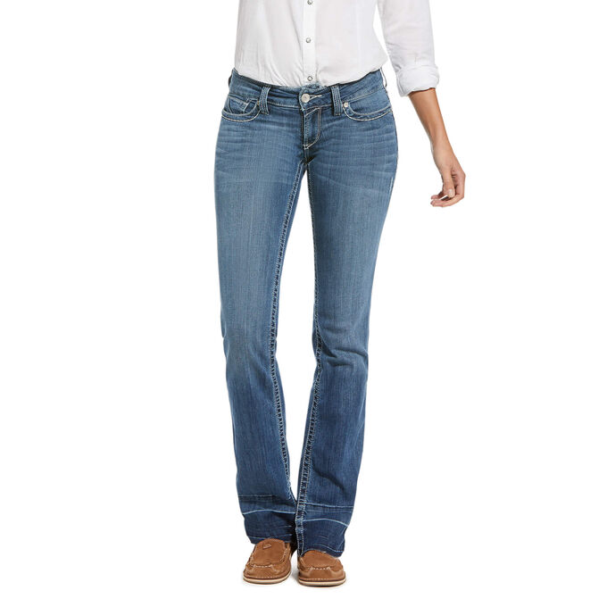 R.E.A.L. Low Rise Stretch 3D Wendy Stackable Straight Leg Jean