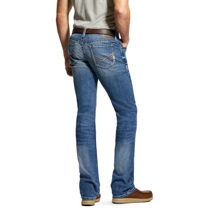 M7 Rocker TekStretch Davis Stackable Straight Leg Jean