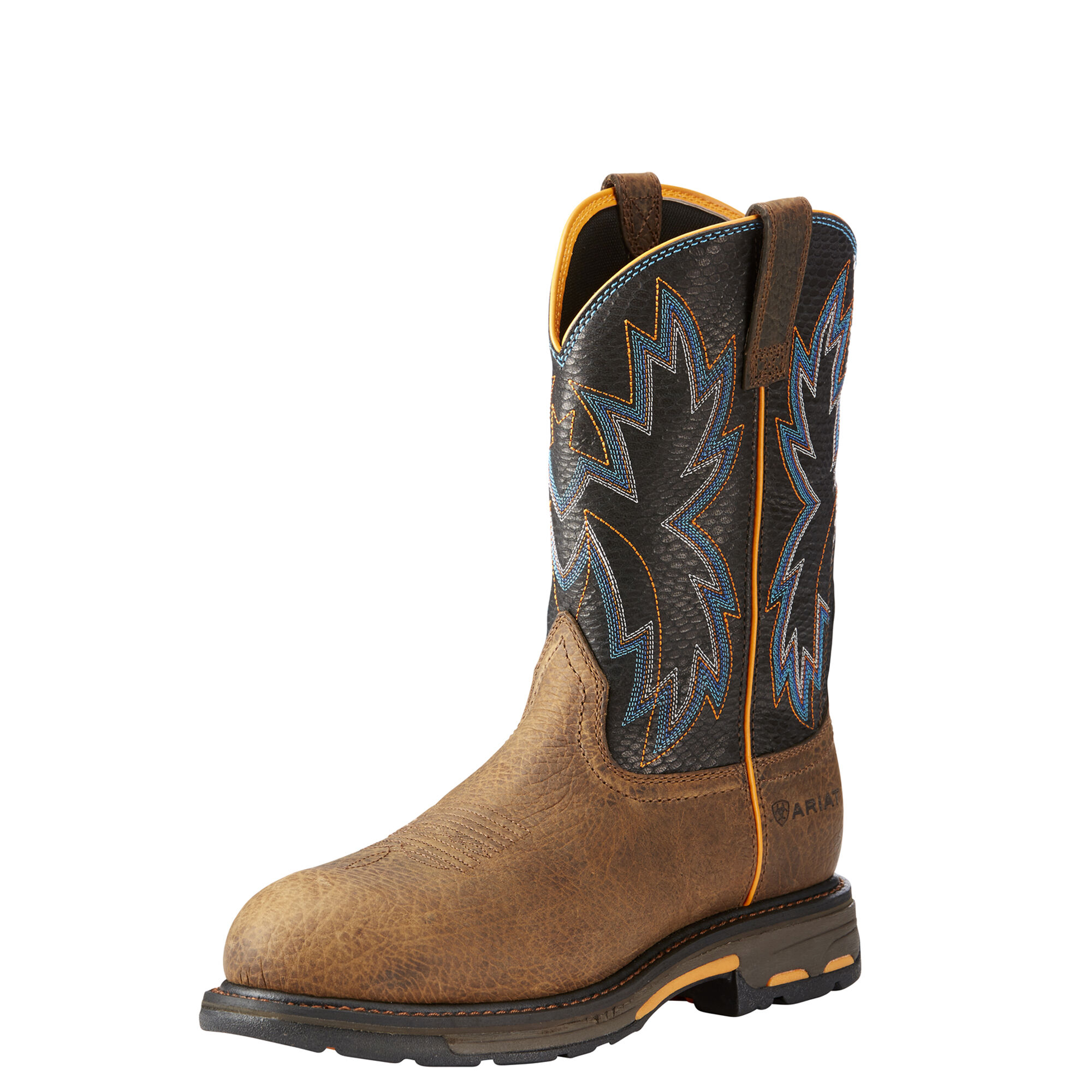 Men's Ariat Workhog Raptor Work Boot, Size: 9 2E, Earth Leather