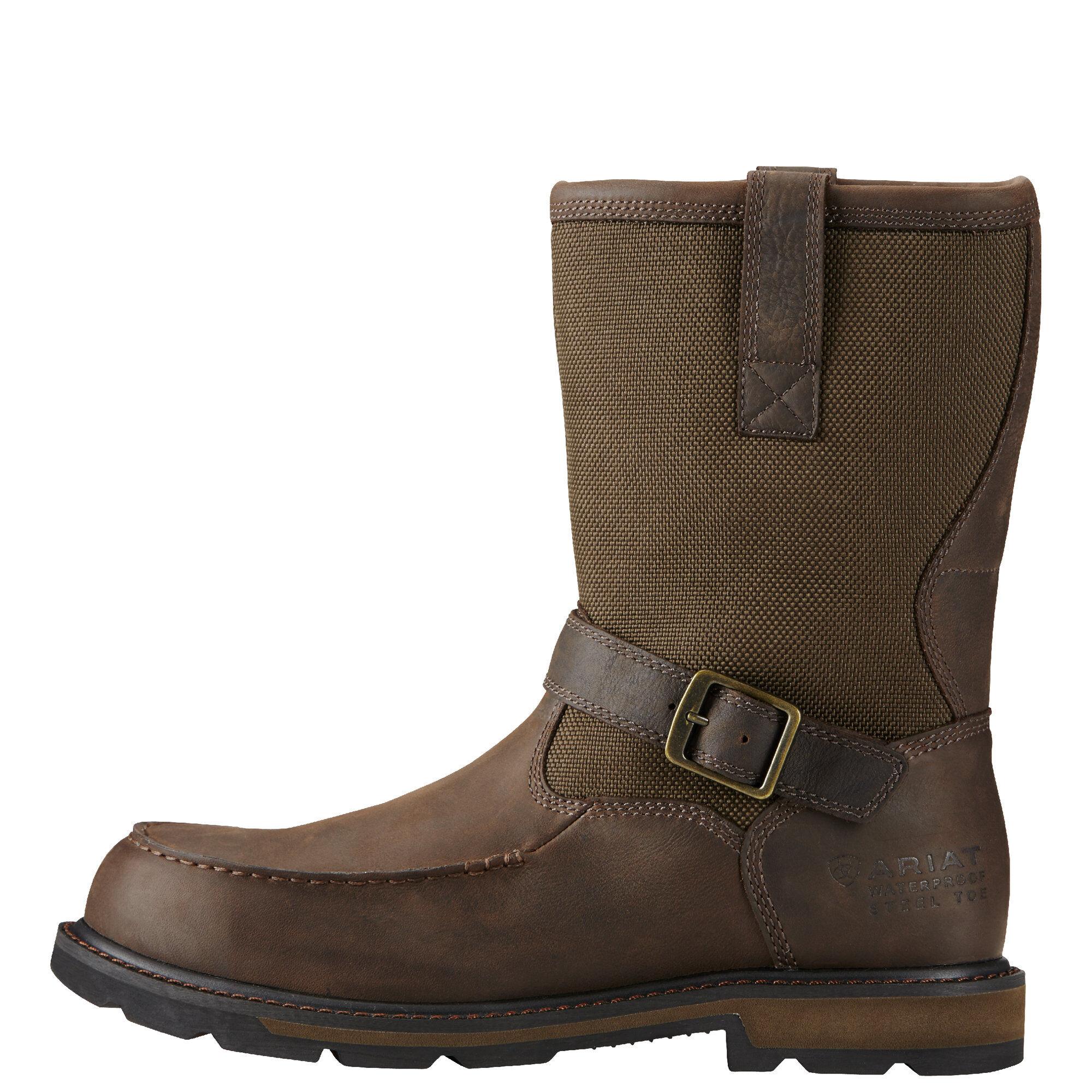 4a546f5a9d5 Groundbreaker Moc Toe Waterproof Steel Toe Work Boot