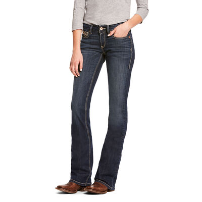 R.E.A.L. Mid Rise Stretch Shayla Boot Cut Jean