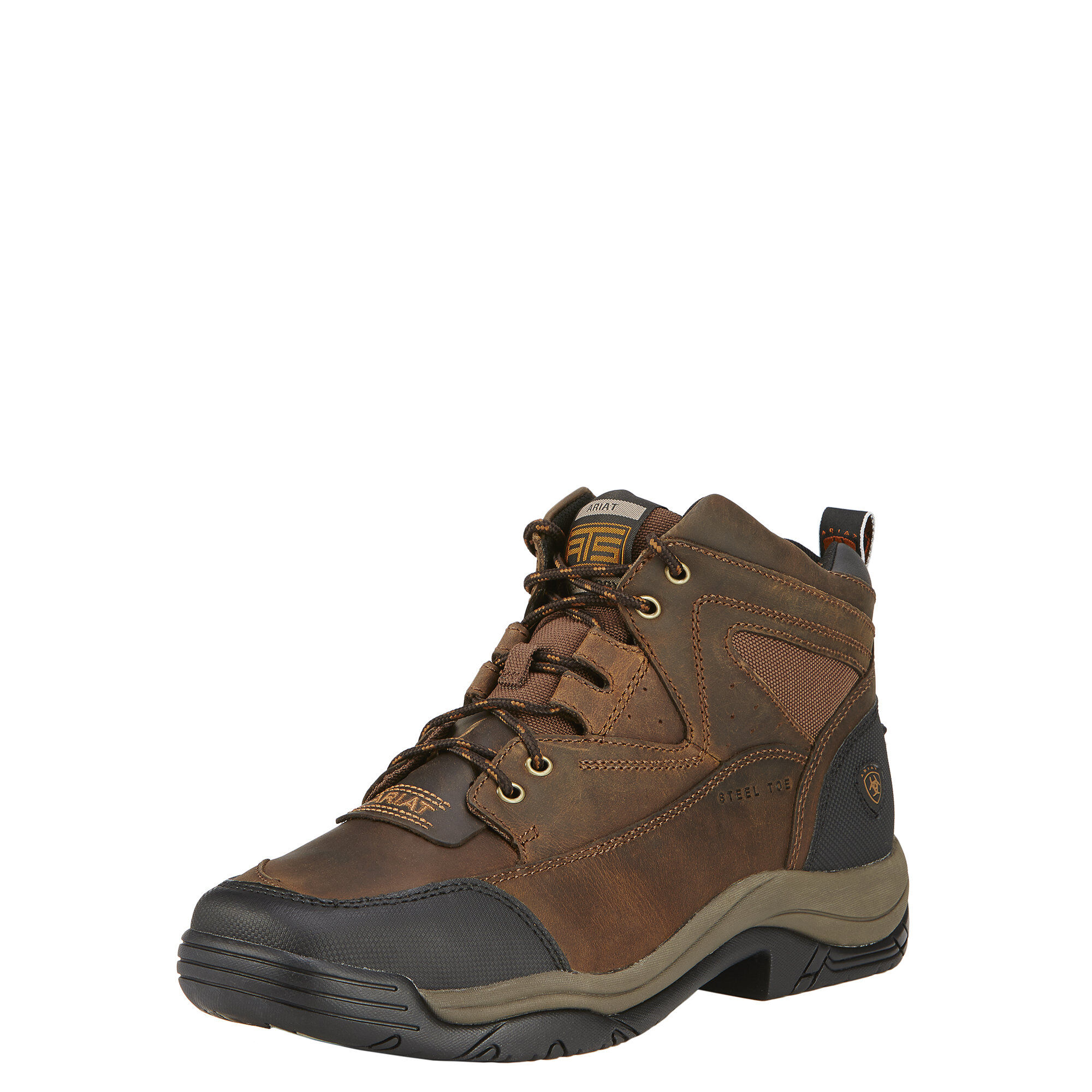Terrain Wide Square Toe Steel Toe Work Boot