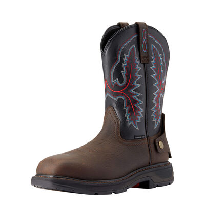 WorkHog XT EZ Zip Carbon Toe Work Boot