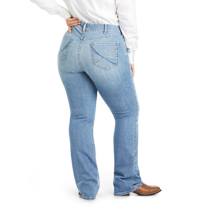 R.E.A.L. Mid Rise Vivian Boot Cut Jean
