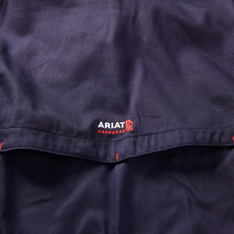 ARIAT Mens Flame Resistant Solid Vent Shirt