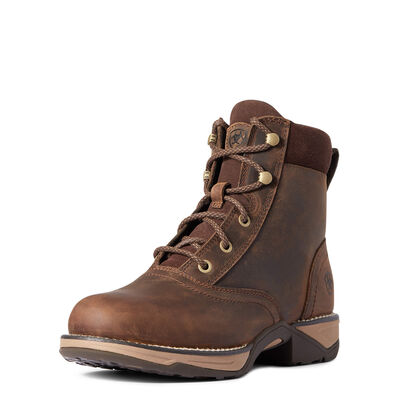 Anthem Round Toe Lacer Boot