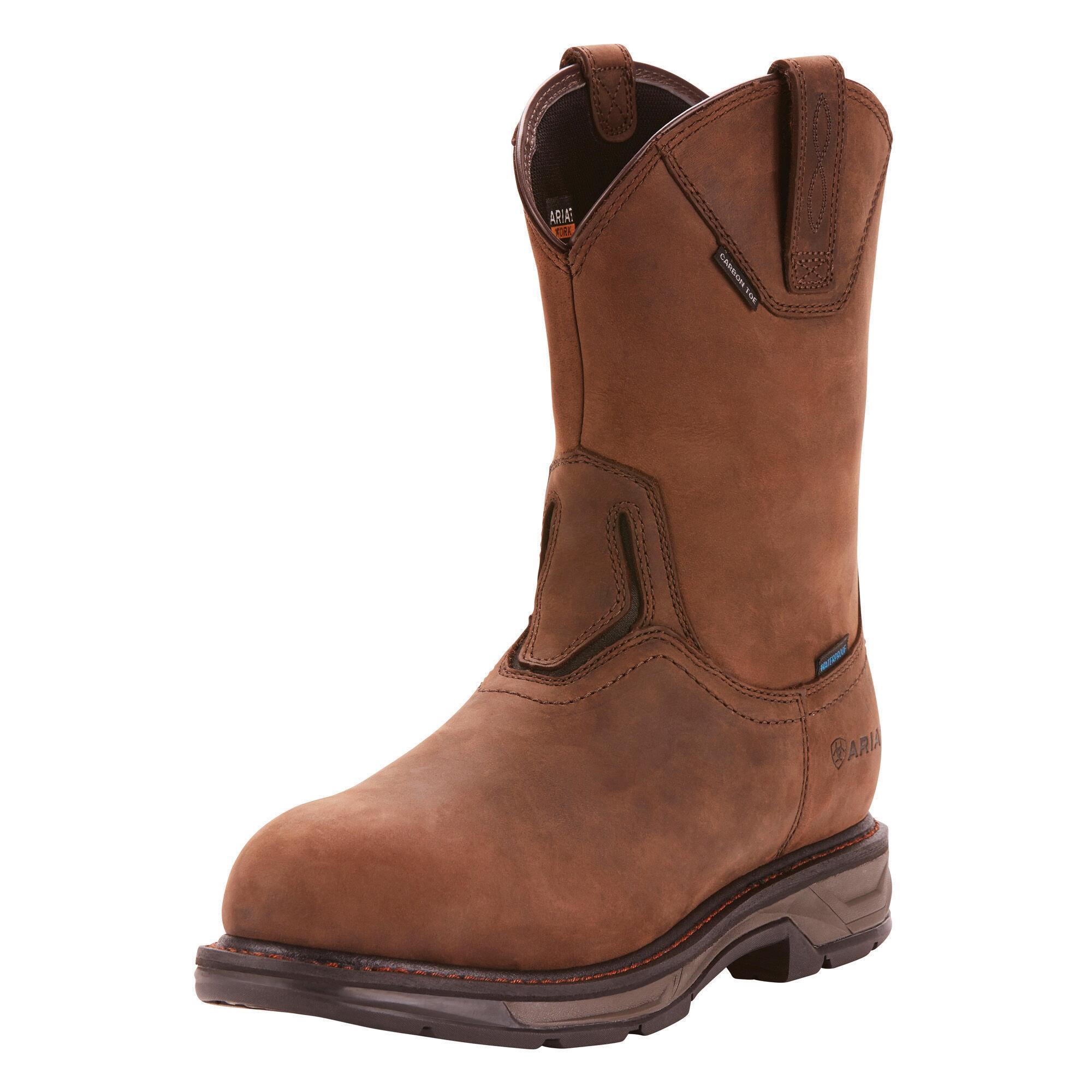 WorkHog XT Wellington Waterproof Carbon Toe Work Boot