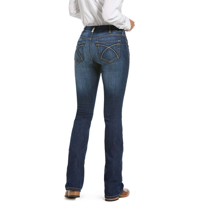 R.E.A.L. Perfect Rise Stretch Rosa Boot Cut Jean