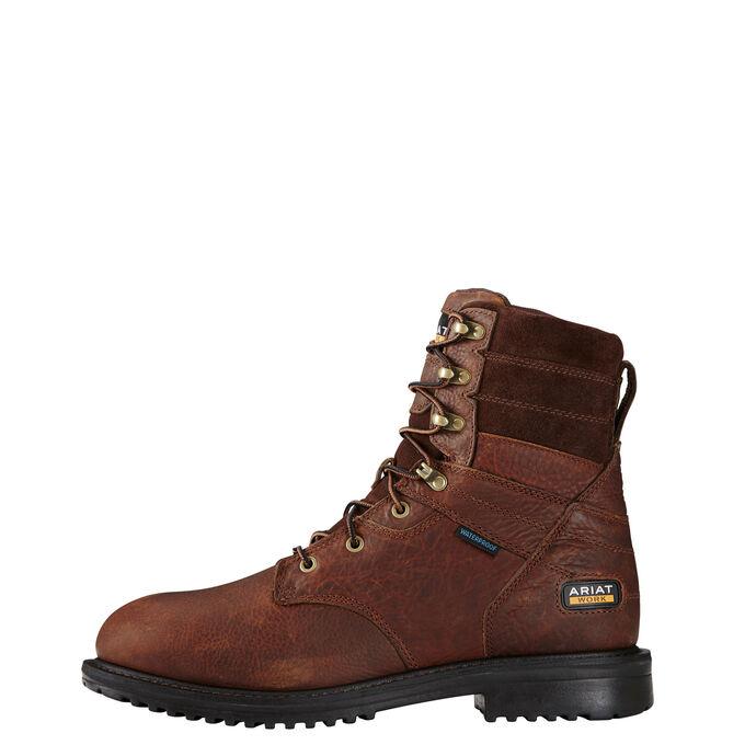 """RigTek 8"""" Waterproof Composite Toe Work Boot"""